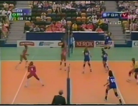 PanAm Volleyball Cuba Brazil - Volleyball Library on YouTube Jogos Panamericanos Winnipeg 1999: Brasil 3x2 Cuba (Sets 1 e 2 - Fase preliminar) https://www.youtube.com/watch?v=sY-GQJ0SugY