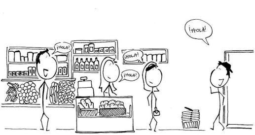 Social Guidebook to Norway - Grocery Store in Spain